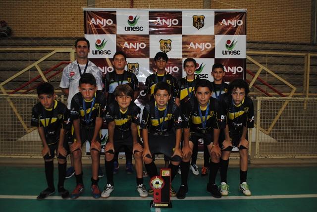 Categoria Sub-13: 3° lugar Içara/Presidente Vargas