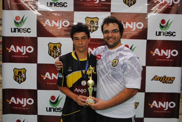 Artilheiro sub-14: Claudio Salvático do núcleo de Forquilhinha com 20 gols