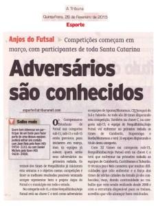 Jornal A Tribuna - 26/02/2015