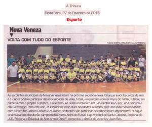 Jornal A Tribuna - 27/02/0215