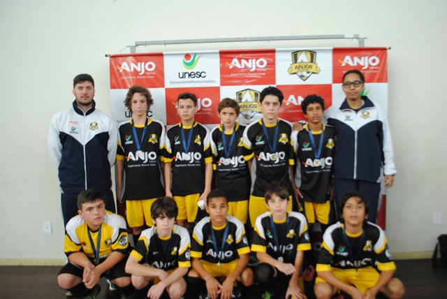 Urussanga - 2° lugar categoria sub-14
