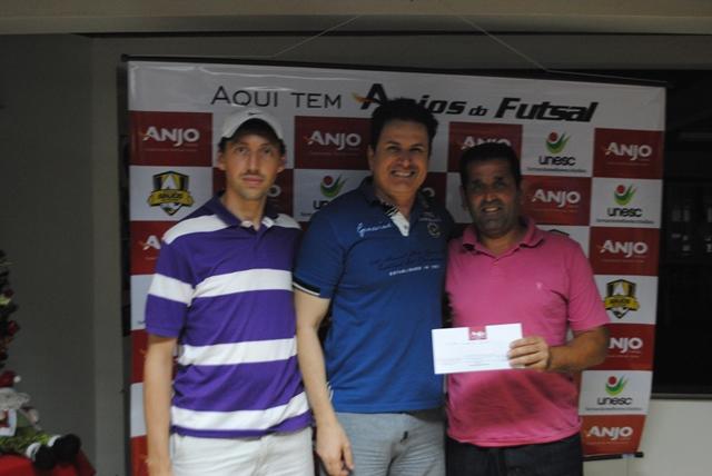 Professores de Orleans ficaram em 3° lugar na pontuação geral do Anjos do Futsal.