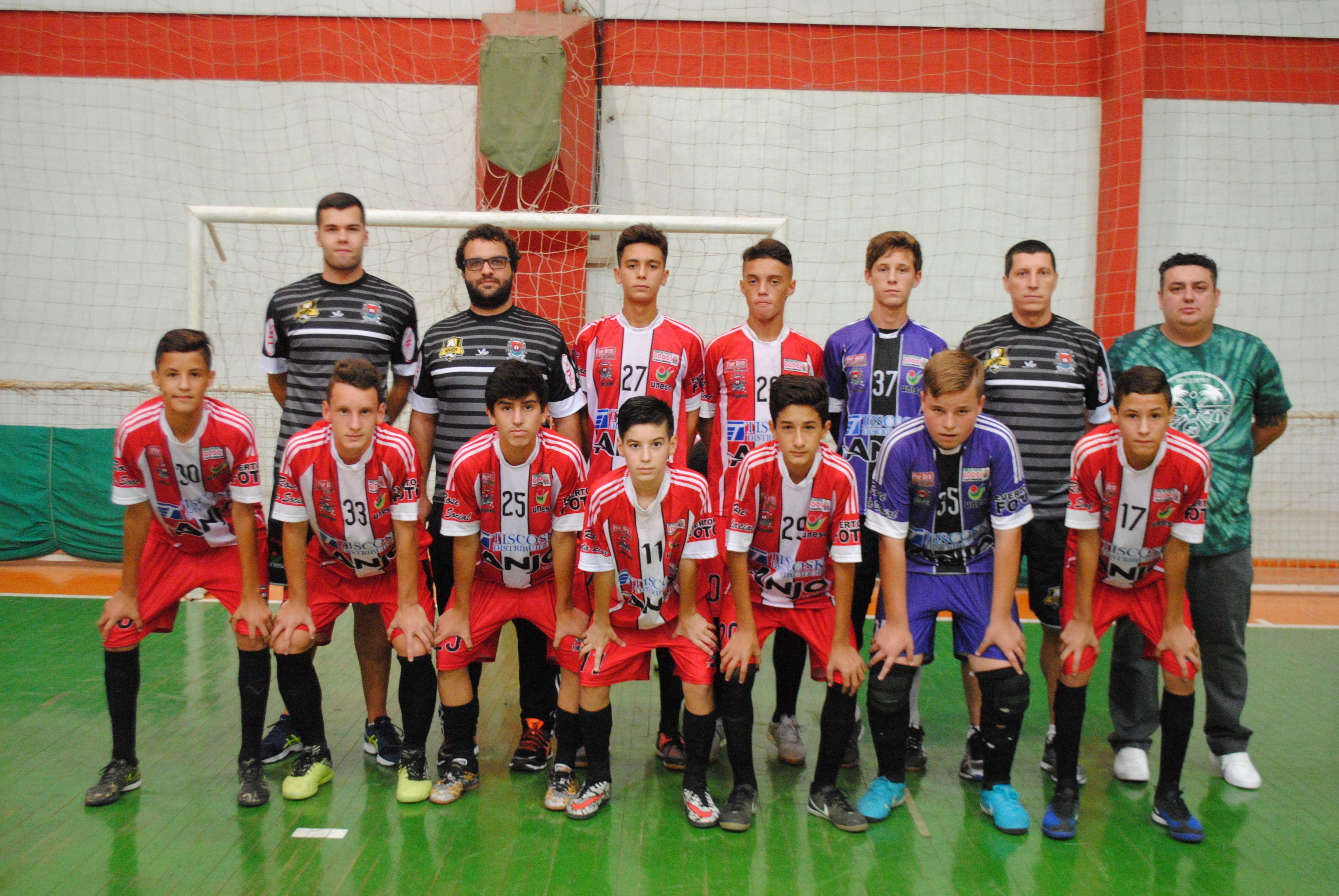 cbe1a96fcd Forquilhinha Anjo Futsal sub-15 é líder da chave no Campeonato ...