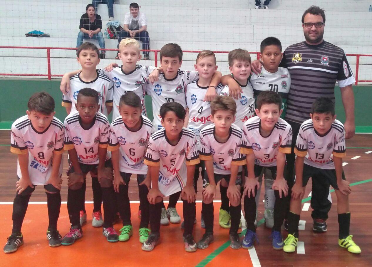 6377f05593 Forquilhinha Anjo Futsal sub-11 começa bem no Campeonato Estadual ...